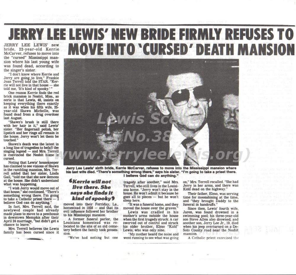 Jerry Lee Lewis Lewis Boogie Bonnie B